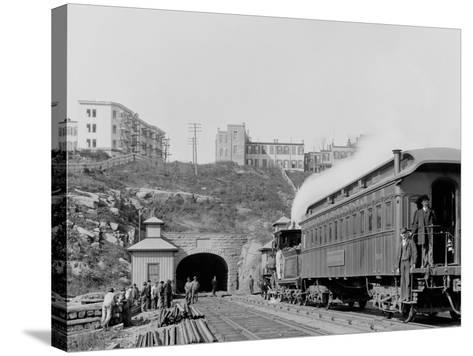 Bergen Tunnel, N.J., East--Stretched Canvas Print