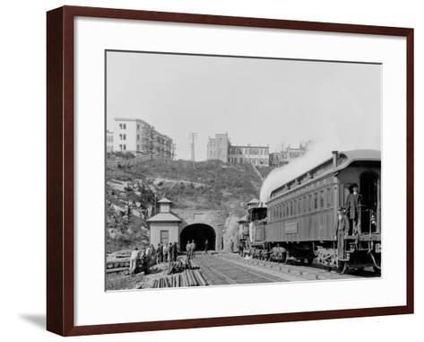 Bergen Tunnel, N.J., East--Framed Art Print