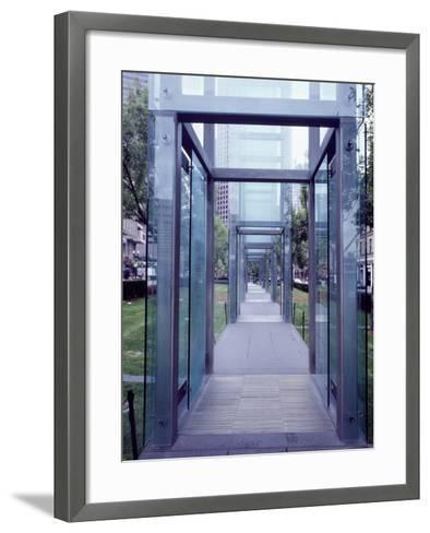 Holocaust Memorial Park-Carol Highsmith-Framed Art Print