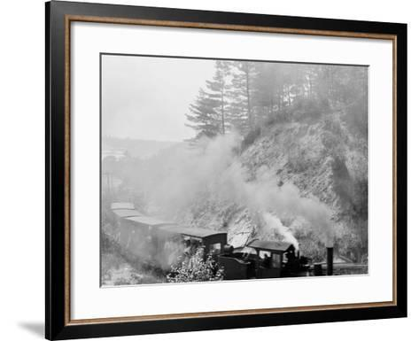 The Hemlock Limited, Bound for the Woods, Harbor Springs, Mich.--Framed Art Print