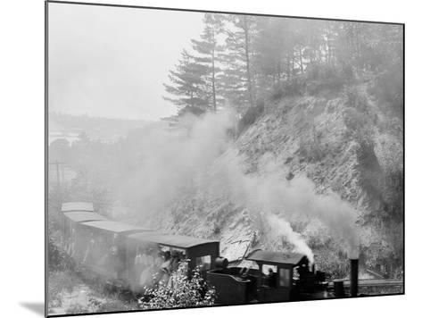 The Hemlock Limited, Bound for the Woods, Harbor Springs, Mich.--Mounted Photo