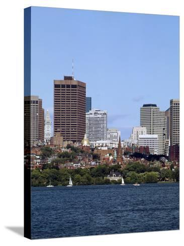 New Towers over Colonial City-Carol Highsmith-Stretched Canvas Print