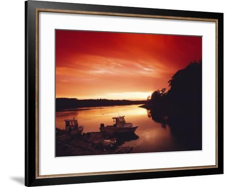 Sunset at Watch Hill, Rhode Island-Carol Highsmith-Framed Art Print
