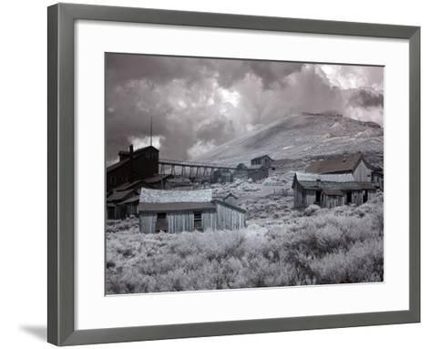 Bodie Is a Ghost Town-Carol Highsmith-Framed Art Print