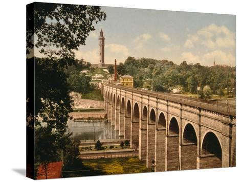 High Bridge, New York City--Stretched Canvas Print
