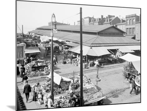 Lexington Market, Baltimore, Maryland--Mounted Photo