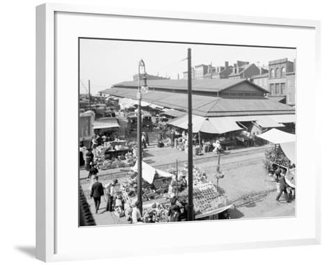 Lexington Market, Baltimore, Maryland--Framed Art Print