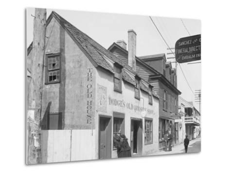 Old Curiosity Shop, St. Augustine, Fla.--Metal Print