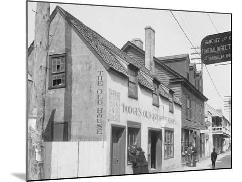 Old Curiosity Shop, St. Augustine, Fla.--Mounted Photo