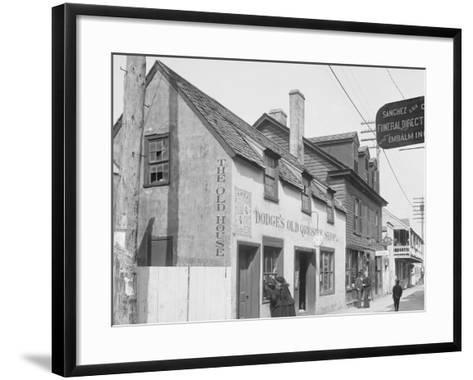 Old Curiosity Shop, St. Augustine, Fla.--Framed Art Print
