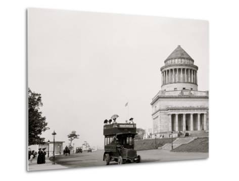 Grants Tomb and Riverside Drive, New York, N.Y.--Metal Print