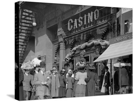 New York, N.Y., Saturday Matinee, Casino Theatre--Stretched Canvas Print