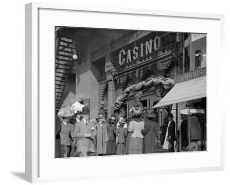 New York, N.Y., Saturday Matinee, Casino Theatre--Framed Art Print