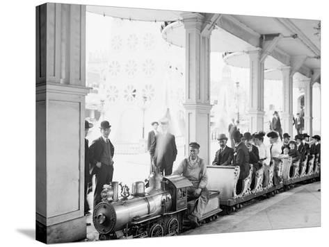 Miniature Railway, Coney Island, New York--Stretched Canvas Print