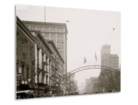 Columbus, Ohio, High St. North from State--Metal Print