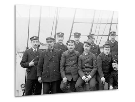 U.S.S. Boston Petty Officers--Metal Print