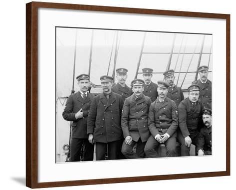 U.S.S. Boston Petty Officers--Framed Art Print