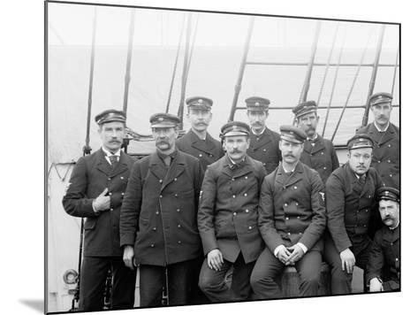 U.S.S. Boston Petty Officers--Mounted Photo
