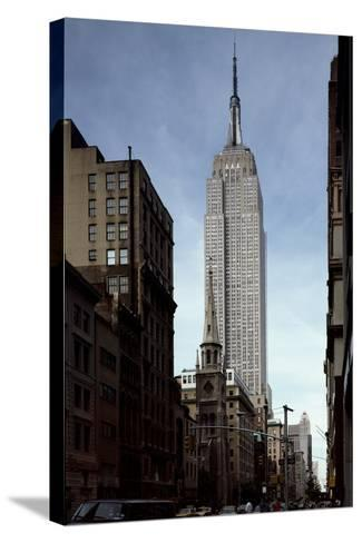 Empire State Building-Carol Highsmith-Stretched Canvas Print