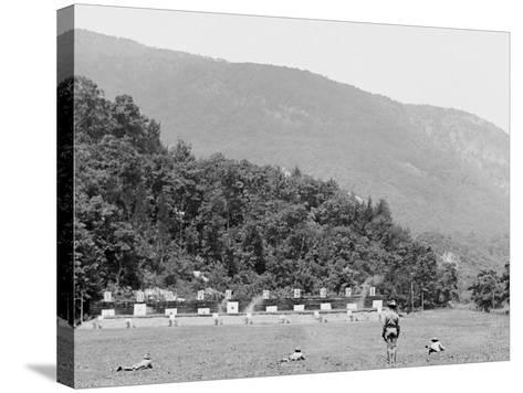 Skirmish Target Practice at 200 Yards, West Point, N.Y.--Stretched Canvas Print