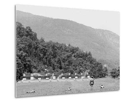 Skirmish Target Practice at 200 Yards, West Point, N.Y.--Metal Print