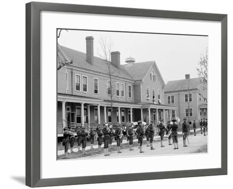 Guard Mount, Fort Oglethorpe, Chicamauga I.E. Chickamauga-Chattanooga National Military Park, GA--Framed Art Print