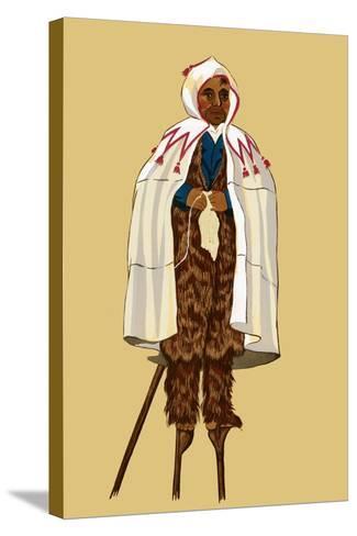 Stiled Citizen of Guyenne-Elizabeth Whitney Moffat-Stretched Canvas Print