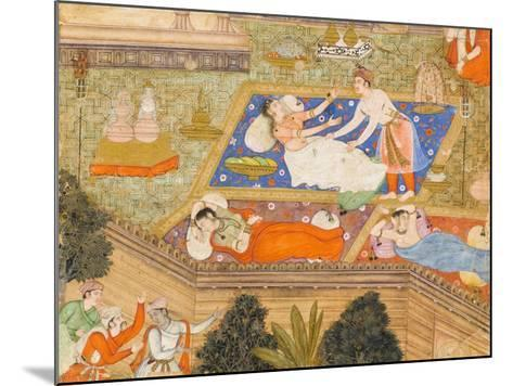 King Putraka in the Palace of the Beautiful Patali--Mounted Art Print
