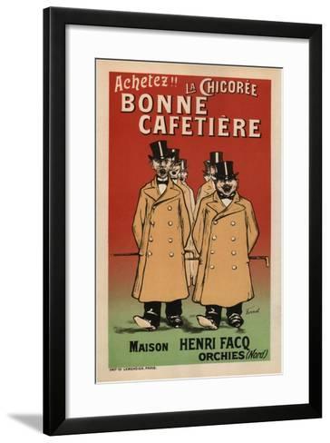 La Chicoree Bonne Cafetiere-Fernand Fernel-Framed Art Print