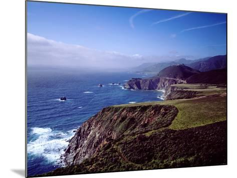 Pacific Ocean and Rocky California Coast-Carol Highsmith-Mounted Photo