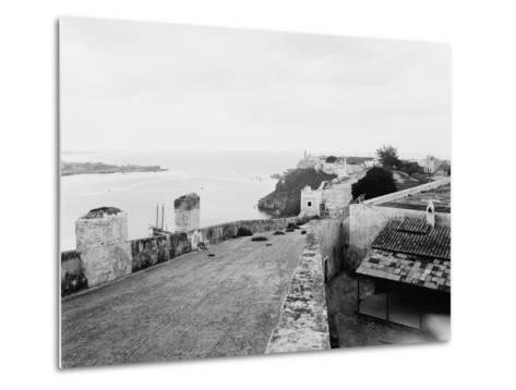 General View from Top of Cabanas Castle--Metal Print