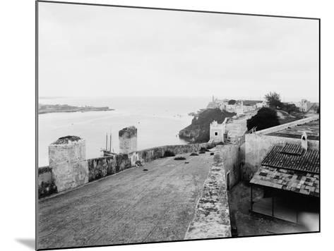 General View from Top of Cabanas Castle--Mounted Photo