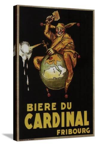 Biere Du Cardinal-Achille Lucien Mauzan-Stretched Canvas Print