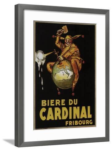Biere Du Cardinal-Achille Lucien Mauzan-Framed Art Print