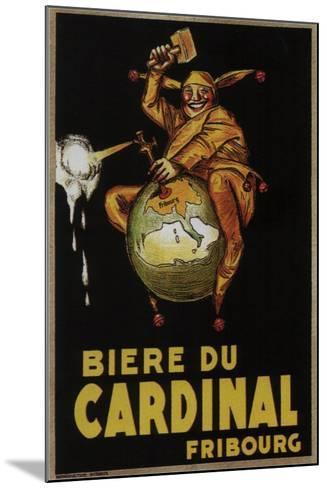 Biere Du Cardinal-Achille Lucien Mauzan-Mounted Art Print