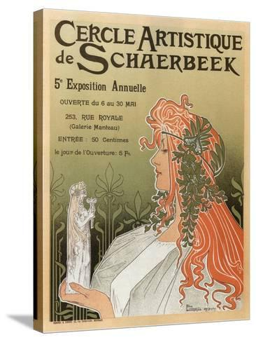 Artistic Club of Schaerbeek; 5th Annual Show-Henri Privat-Livemont-Stretched Canvas Print
