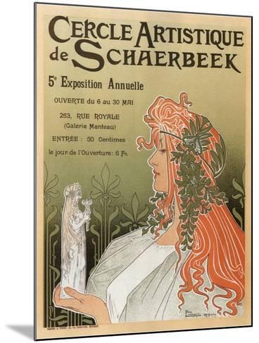 Artistic Club of Schaerbeek; 5th Annual Show-Henri Privat-Livemont-Mounted Art Print