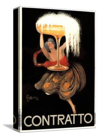 Contratto-Leonetto Cappiello-Stretched Canvas Print