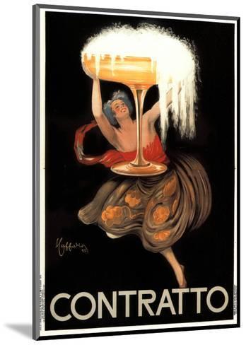 Contratto-Leonetto Cappiello-Mounted Art Print