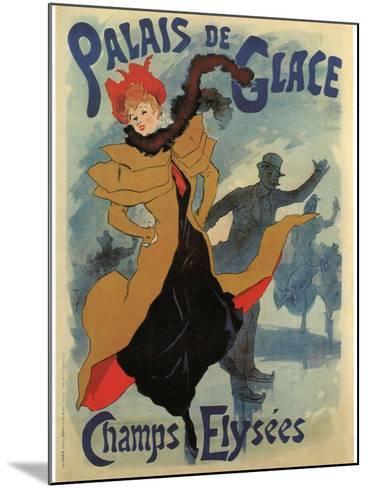 Palace De Glace-Jules Ch?ret-Mounted Art Print