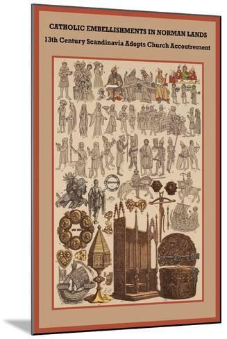 Catholic Embellishments in Norman Lands-Friedrich Hottenroth-Mounted Art Print