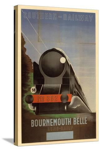 Bournemouth Belle--Stretched Canvas Print