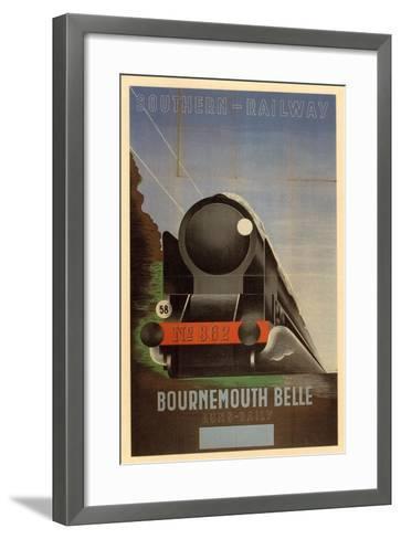 Bournemouth Belle--Framed Art Print