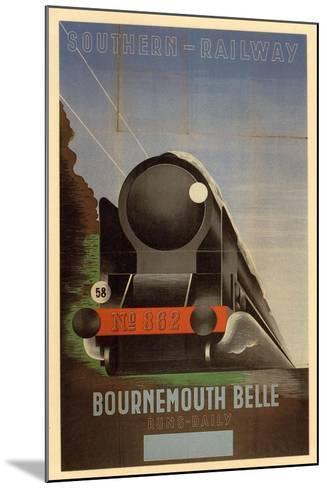 Bournemouth Belle--Mounted Art Print