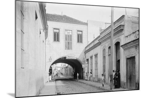 Calle Acosta, a Bit of Havana, Cuba--Mounted Photo