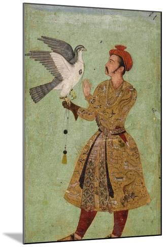Prince with Falcon--Mounted Art Print