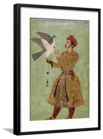Prince with Falcon--Framed Art Print