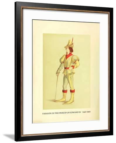 Fashion in the Period of Edward IV-Lewis Wingfield-Framed Art Print