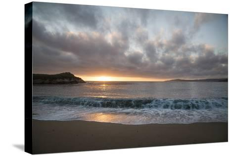 Pacific Sunset at Monterey, California-Carol Highsmith-Stretched Canvas Print