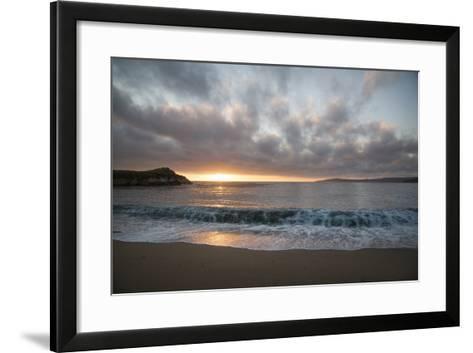 Pacific Sunset at Monterey, California-Carol Highsmith-Framed Art Print